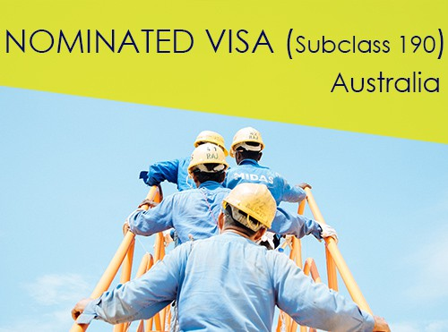 Australia Skilled Nominated Visa - Subclass 190